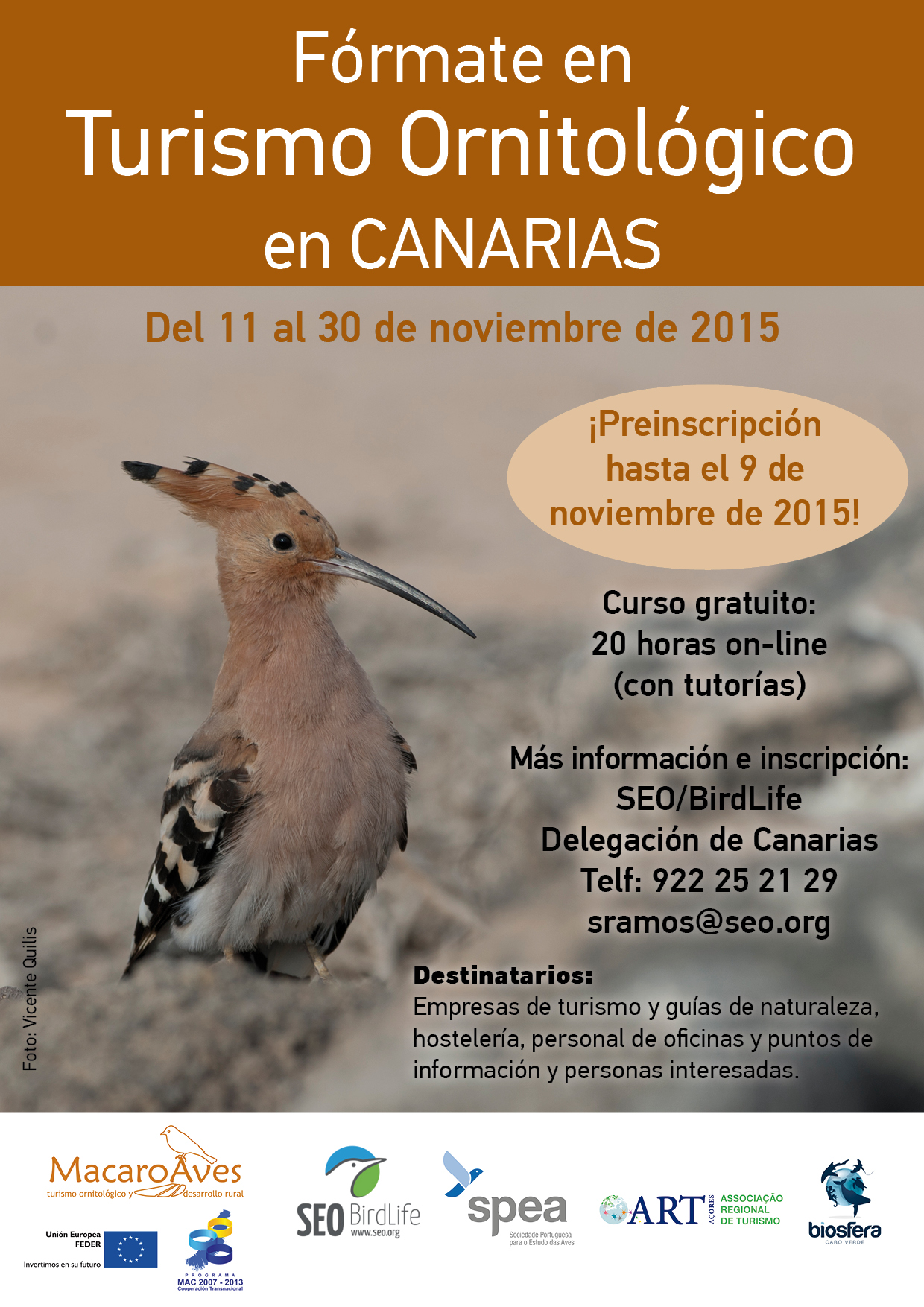 Cartel curso TO Macaroaves-Canarias_x150