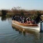 Visista guiada en barca por el Tancat de la Pipa durante el Día Mundial de los Humedales ©SEO/BirdLife