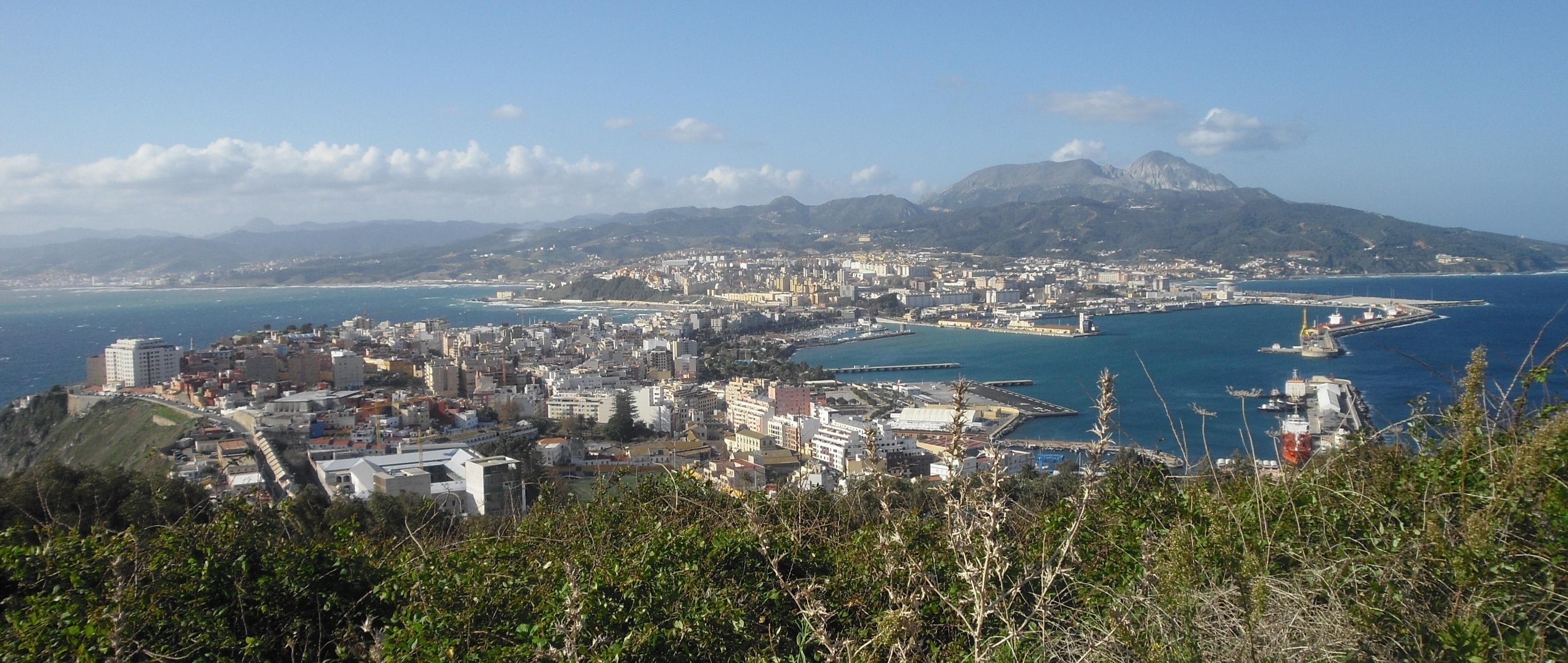 Ceuta desde el Monte Hacho (c) Pepe Navarrete