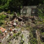 Restos de construcciones abandonadas en los márgenes del río Gillón (Cangas de Narcea). Nicolás López. SEO/BirdLife.