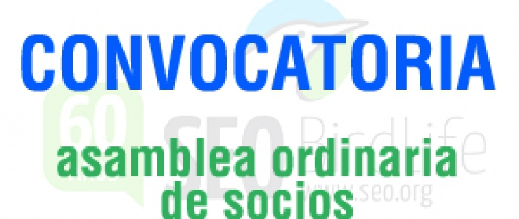 Convocatoria de Asamblea General Ordinaria de SEO/BirdLife